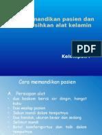 Pp Memandikan Dan Membersihkan Pasien