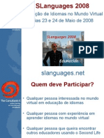 SLanguages 2008