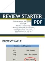 Review Starter