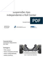 Suspensões Tipo Independente e Roll Center