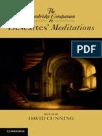 David Cunning - The Cambridge Companion to Descartes' Meditations [2014][a]