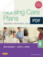 Nursing Care Plans, Nursing Diagnosis and Intervention, 8E - Gulanick, Meg & Myers, Judith L