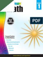 SpectrumMath SampleBook Grade1.Compressed
