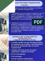 Alinhamento Estartégico Organizacional-Estrut. Org.