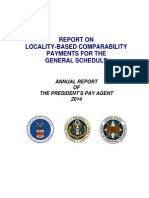 President's Pay Agent Report on Locality Pay