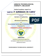 Airbag in Automobile Seminar Report pdf