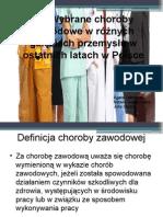 Choroby Zaw