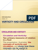 Vorticity and Circulation