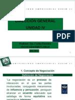 Unidad IV (Negociación)