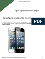 Manual Para Principiantes (iPhone)
