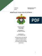 Herniasdadsa Nukleus Pulposus