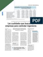 Www.lun Las Cualidades Que Buscan Las Empresas Para Contratar Ingenieros