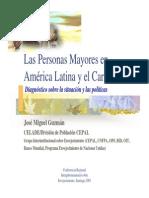 Envejecimiento America Latina
