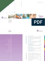 Il Moresco Spa Treatment List