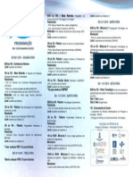 Panfleto Programacao Do Evento