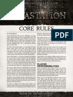 Path of Devastation Rules