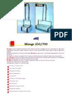 Lavapavimenti Mirage 250