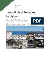 As Melhores Esplanadas de Lisboa