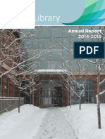 Darien Library Annual Report 2014-2015
