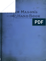 Crowe F - The Master Mason's Handbook 1890
