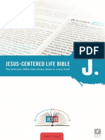 JESUS-CENTERED LIFE BIBLE