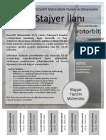 RotorBIT_Stajyer_Ilani