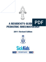 Resident Guide to Pediatric Rheumatology 2011