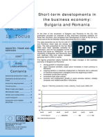 Short-term developments in the business economy
