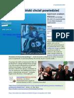 Co Piechocinski chcial powiedziec tajemnym znakiem PDO216 FO von Stefan Kosiewski CANTO DCXVI 20151027 Magazyn Europejski SOWA