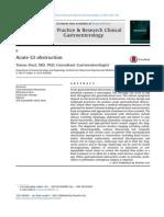 Obstruccion Gastrointestinal Aguda