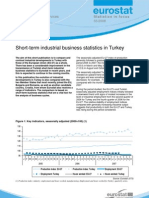 Short-term industrial business statistics in Turkey