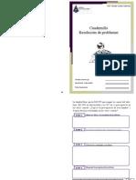 Cuadernillo Resolución de Problemas