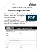 Locus Processor Manual