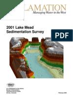 2001 Lake Mead Sedimentation Survey