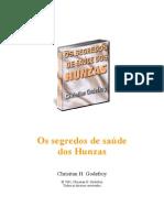 Christian Godefroy Segredos de Saude Dos Hunzas