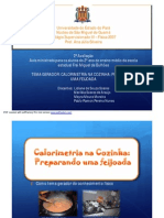 Presentation Calorimetria Na Feijoada