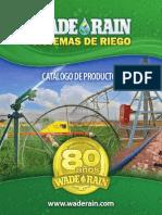 Catalogo Wade Rain Mexico 2015