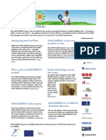 SAVE ENERGY NEWSLETTER _First edition