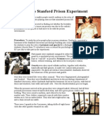 zimbardo study outline