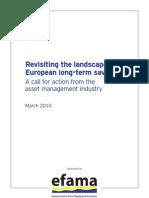 het rapport van de EFAMA met de acht aanbevelingen maart 2010