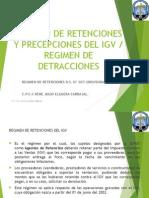 Regimen de Retenciones - Percepciones - Detracciones - Sesion 7