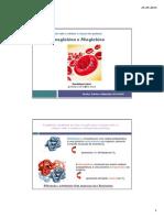 Aula Teorica Hemoglobina e Mioglobina 24-09-2015 Profa Guadalupe