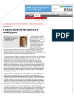 Oren Sellstrom Op-Ed California Traffic Courts Scandal