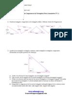 Guía Acumulativa Nº1 (Criterios de Congruencia de Triángulos)