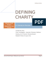 Defining Charity a Literature Review Final Online 2