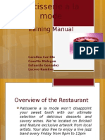 Food and Beverage Training Manual 1