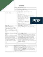 specialization unit plan lesson 4