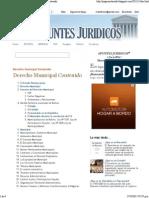 APUNTES JURIDICOS™_ Derecho Municipal Contenido