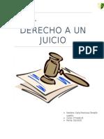 Derecho a Un Juicio