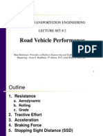 Lecture Set 02 Road Vehicle Performance